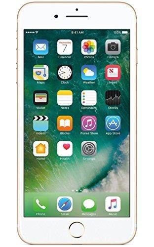 Apple iPhone 7 Plus 256GB, Gold (Certified Refurbished)