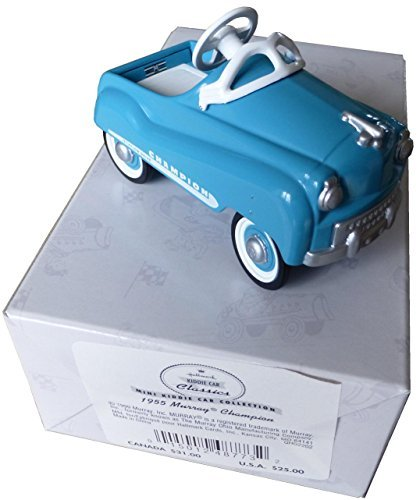 1999 Hallmark Blue 1955 Murray Champion Mini Kiddie Car Collection QHG2202