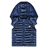 Bugatti Kids Hooded Gilet Patrese 4 Yrs Atlantic Blue Atlantic Blue