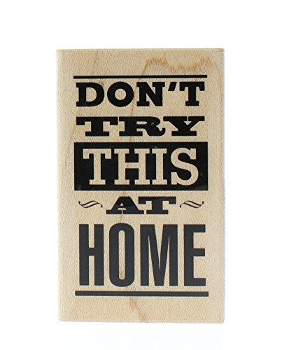 - Hampton Art 7 Gypsies Don't Try This At Home Rubber Stamp