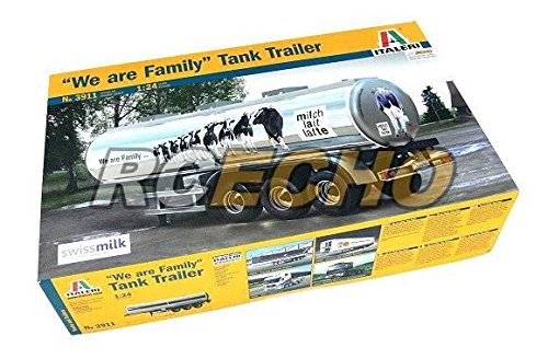RCECHO® ITALERI Truck & Trailers Model 1 24 We are Family Tank Trailer 3911 T3911 174; Full Version Apps Edition