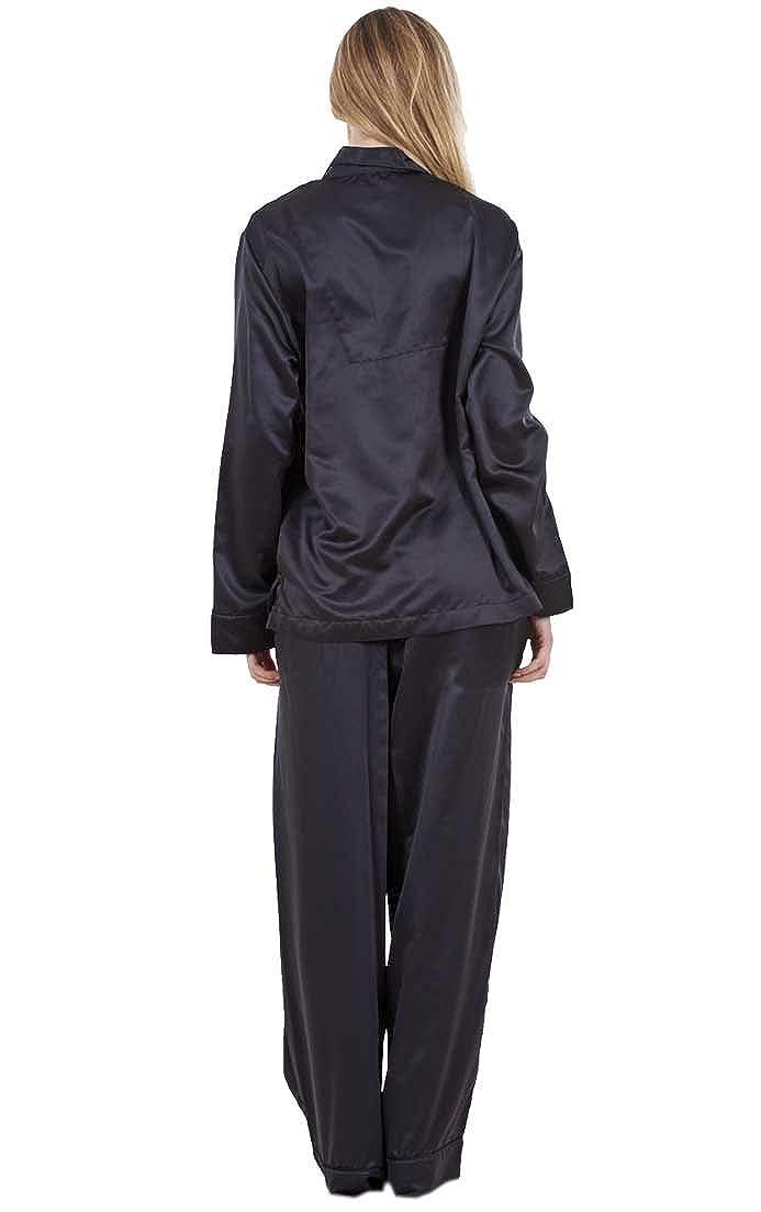 Ex Famous Store - Pijama - para mujer negro negro 46: Amazon.es: Ropa y accesorios