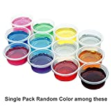 Crystal Jelly Slime - 50g Colorful Magic Clear DIY Making Slime Clay Mud, Eco-friendly Resin Safe & Non-toxic, Transparent Art Plasticine Toys for Adults & Children (Single Pack Random Color)