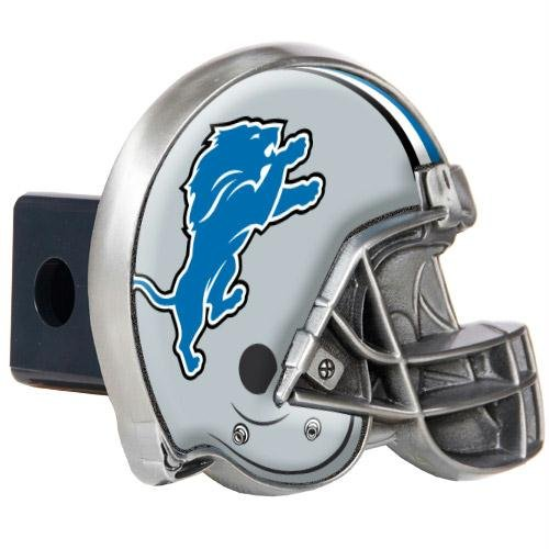 - Detroit Lions NFL Metal Helmet Trailer Hitch Cover