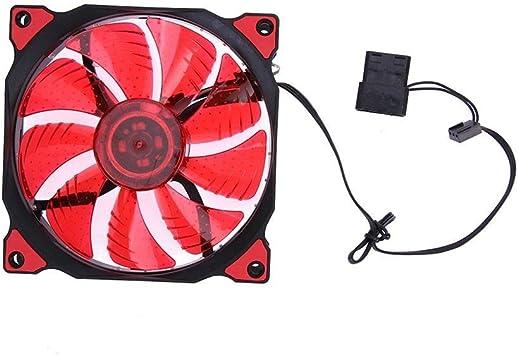 Ventilador de refrigeración de la CPU Ventilador de Caja de PC de ...