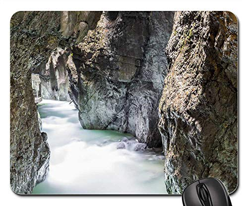 (Mouse Pad - Waters Nature Rock River Travel Mountain)