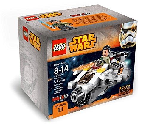 Star Wars Rebels The Ghost Starship (LEGO Fan Expo Canada 2014 Exclusive (Lego Star Wars Kanan Jarrus Set)
