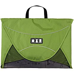BAGSMART Luggage Travel Gear Garment Folder Anti-wrinkle Shirt Travel Packing Cube, Green