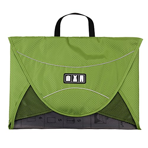 Garment Sleeve Bag - BAGSMART Luggage Travel Gear Garment Folder Anti-wrinkle Shirt Travel Packing Cube, Green