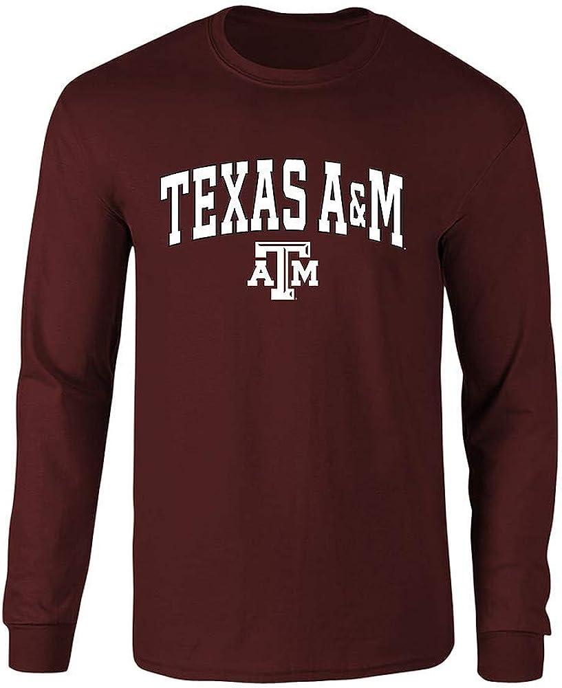 Elite Fan Shop NCAA Mens Apparel Plus Size Long Sleeve Tshirt