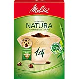 Melitta Size 1x4 Natura Filterbags, Pack of 80