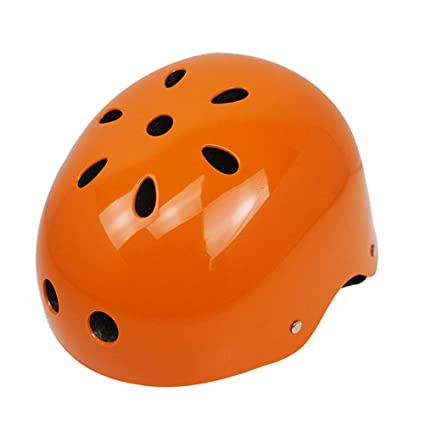 Amazon.com: Casco de patinaje para adultos, color naranja ...