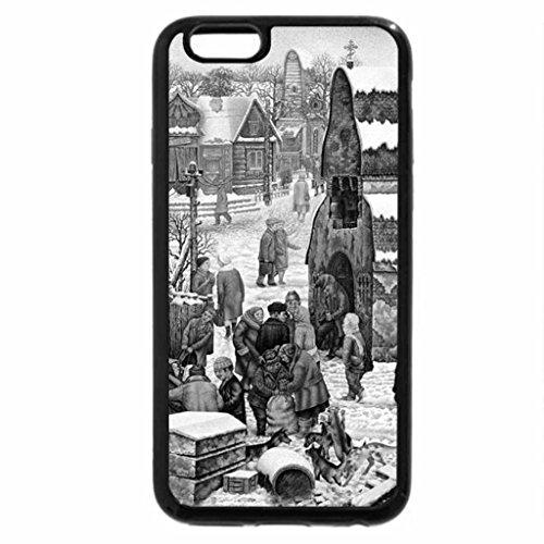 iPhone 6S Case, iPhone 6 Case (Black & White) - Julius Vedernikov. Dog wedding