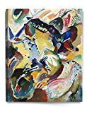 One of the pioneers of abstract modern art, Wassily Kandinsky exploited the evocative interrelation between color and form to create an aesthetic experience that engaged the sight, sound, and emotions of the public. He believed that total abstraction...