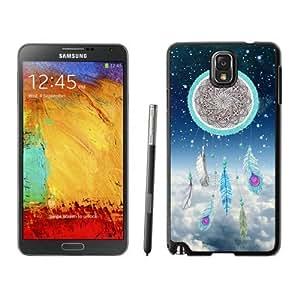 Element Samsung Galaxy Note 3 Case for Girls Classic Dream Catcher Nebula Soft Rubber Black Phone Cover Accessories