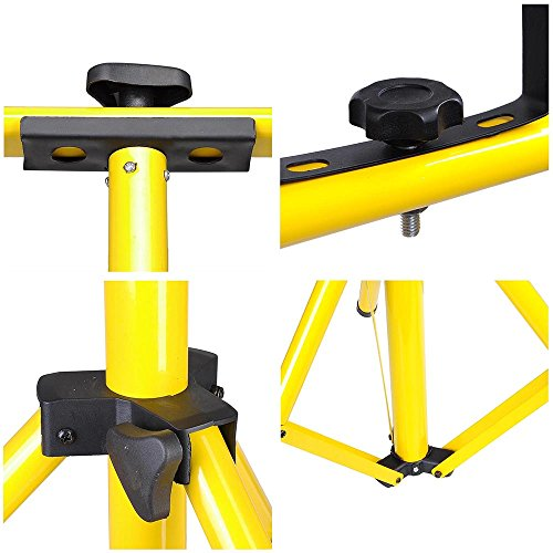 YesHom Adjustable Tripod Stand for LED Flood Light Telescoping Steel Floodlight Stand Camp Work Emergency Lamp by Yeshom (Image #4)