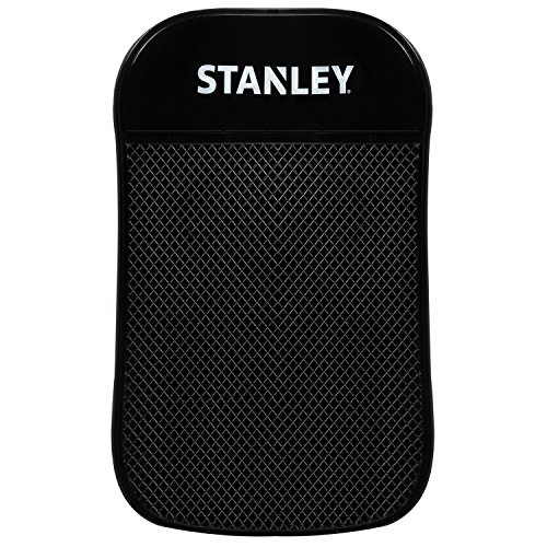 (Stanley Sticky Pad - Universal Car Dashboard Mat w/Extra Strong Anti-Slip Grip for Cell-phone, Tablet, GPS, iPod, Keys or Sunglasses - Great for Car, RV, Golf Cart, Boat & More - 3.5