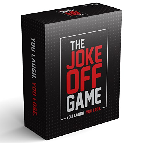 The Joke Off Family Game for Kids, Teens and Adults, Hilarious Fun for Families, Jokes on Every Card, This Party in a Box Includes a Board to Keep Score of Games, Best to Play with Friends by Lafalot