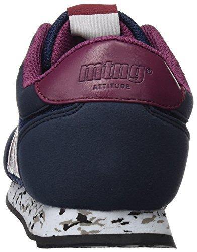 para Burdeos Chica Raspe Deporte Azul Marinonapo Zapatillas Funner de Mujer MTNG AXqUvw5B