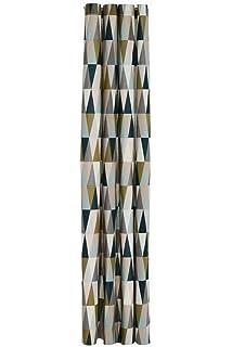 Ferm Living Duschvorhang Spear Shower Curtain Mit Bunten Geometrischen  Muster Aus Acrylstoff 100 % Wasserdicht
