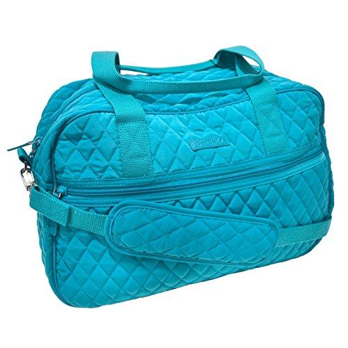 (Vera Bradley Compact Traveler Bag (Peacock Blue))