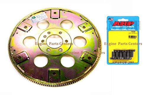 SFI Flexplate+BOLTS 168-tooth INTERNAL Balance Chevy SB BB 327 350 396 427 2pc (SFI APPROVED) Arp Bb Chevy