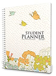Well Planned Day, Student Planner Floral Style, July 2017 - June 2018