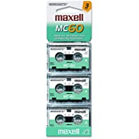 Maxell Micro Cassettes (Pack of 3)