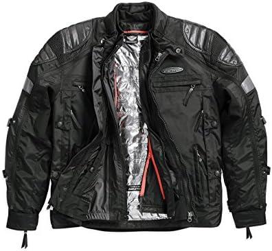 Harley Davidson Fxrg Triple Vent System Switchback Riding Jacket 98094 15vm Herren Outerwear Schwarz Xl Bekleidung