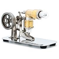 DjuiinoStar Hot Air Stirling Engine, MINI, Assembled, Ready to Run DHA-BS-301