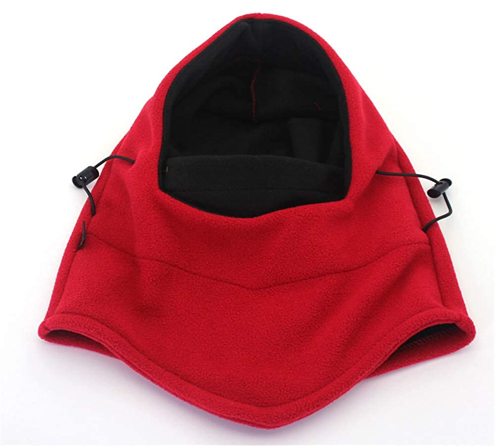 kemosen Thermal Balaclava Full Face Ski Mask,Outdoor Sports Mask Hood Hat for Cycling Motorcycling Unisex Neck Warmers Adjustable Size Windproof Headgear.