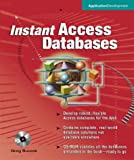 img - for Instant Access Databases book / textbook / text book