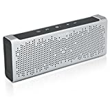 Turcom Bluetooth Speaker Portable Wireless Mobile Mini Speaker, Dual Speakers 10 Watt, IPX5 Water-Resistant, Enhanced Bass, Built in Mic, 3.5mm AUX Port, Rechargeable Battery, High-End Aluminum Casing