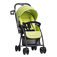 Aptly named, the Joovy Balloon Stroller weighs only 12 pounds and has all the right features. **As of August 1, 2016 this stroller has a new upgraded wheel system that includes better wheels and a stronger suspension. These new wheels elimina...