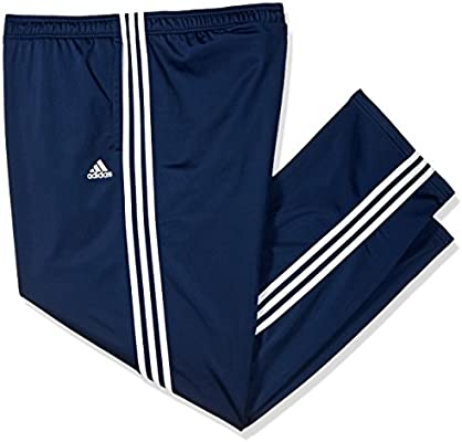 b234a805a4f adidas S1754MCL220 Men s Athletics Essential Tricot 3 Stripe Tapered Pants