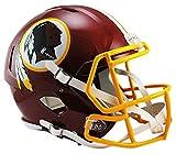 NFL Washington Redskins Riddell Full Size Replica Speed Helmet, Medium, Red
