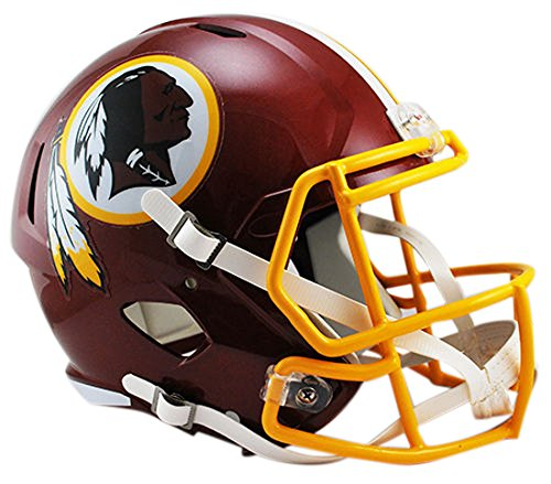 (Riddell NFL Washington Redskins Full Size Replica Speed Helmet, Medium, Red)