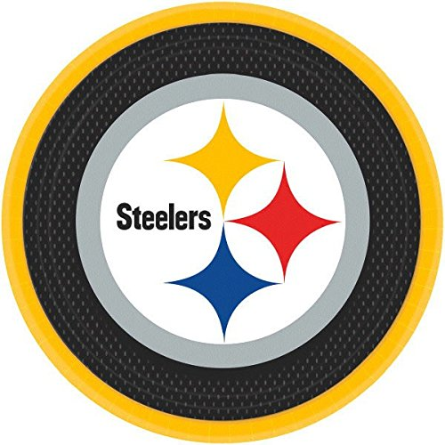 """Pittsburgh Steelers Collection"" 9"" Round, Party"