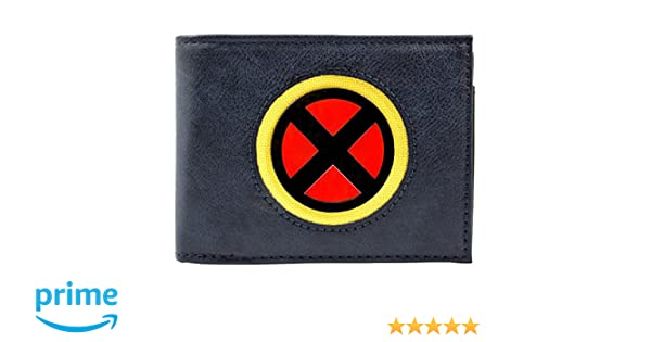 Cartera de Marvel X-Men Adaptarse Escudo de Plata Azul: Amazon.es: Equipaje