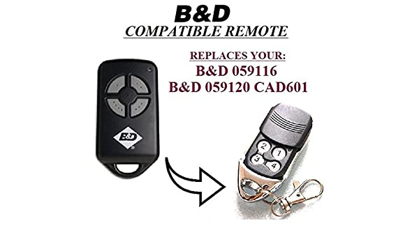 B/&D 4330EBD B/&D 062170//4333EBD сompatible кemote control replacement 433,92Mhz