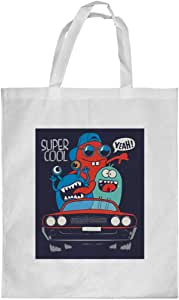 Printed Shopping bag, Large Size, super cool