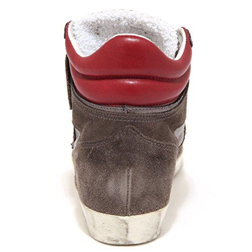 5528O MODEL bordeaux sneaker grigio bordeaux scarpa donna woman grigio shoe PHILIPPE 4r4xCawq