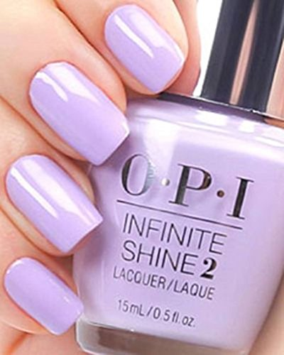 (1 Set Infinite Shine Nail Polish Perfect Primer Top Base Acrylic Nails Gel Ultra Quick Fast Dry Dryer Gelish Collection Girls Kit All Shades Color In Pursuit of Purple Code#NL-ISL11, Type-11)