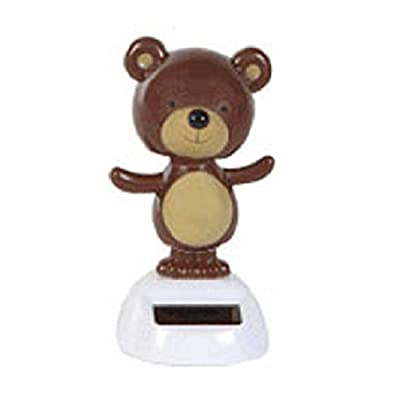 Solar Powered Dancing Bear: Toys & Games