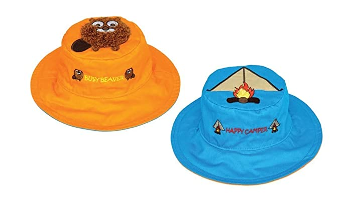 FlapJackKids - Kids  Sun Hat - Beaver Tent Small (6mos - 2 yrs 12347499fb94