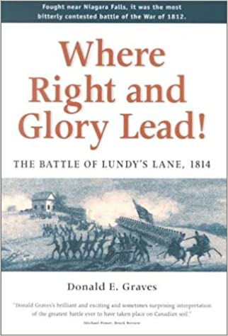 Where Right and Glory Lead! The Battle of Lundy's Lane, 1814