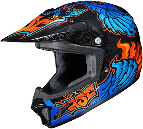 HJC CL-XY YOUTH 2 Eye Fly Mc-2 Size:SML Motorcycle Off-road-helmet (Extra Small Helmet)