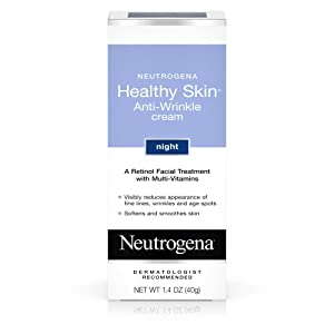 Neutrogena Healthy Skin Anti-Wrinkle Cream Night 1.40 oz (Pack of 3)
