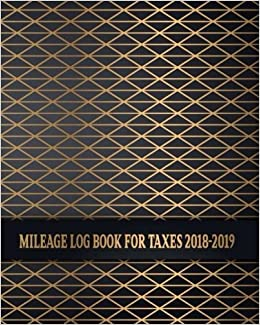 amazon com mileage log book for taxes 2018 2019 business mileage