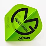 5 Sets of MVG XQMAX GREEN FLIGHT BLACK LOGO DART FLIGHTS MICHAEL VAN GERWEN by PerfectDarts Review
